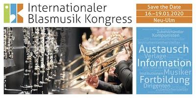 Internationaler Blasmusik Kongress IBK 2020