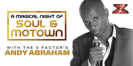 A Magical Night of Soul & Motown' starring Andy Abraham - Christmas Special