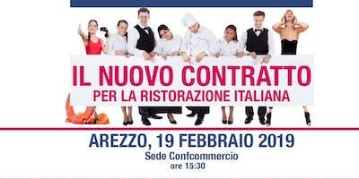 Il nuovo contratto per la ristorazione italiana
