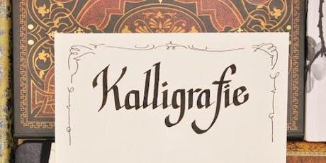 Kalligrafie - schreiben wie mit Bandzugfeder und mehr - WIEN Tickets