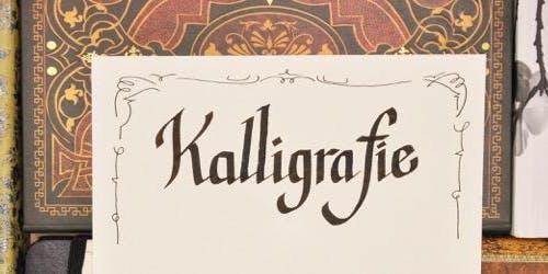 Kalligrafie - schreiben wie mit Bandzugfeder und mehr - WIEN