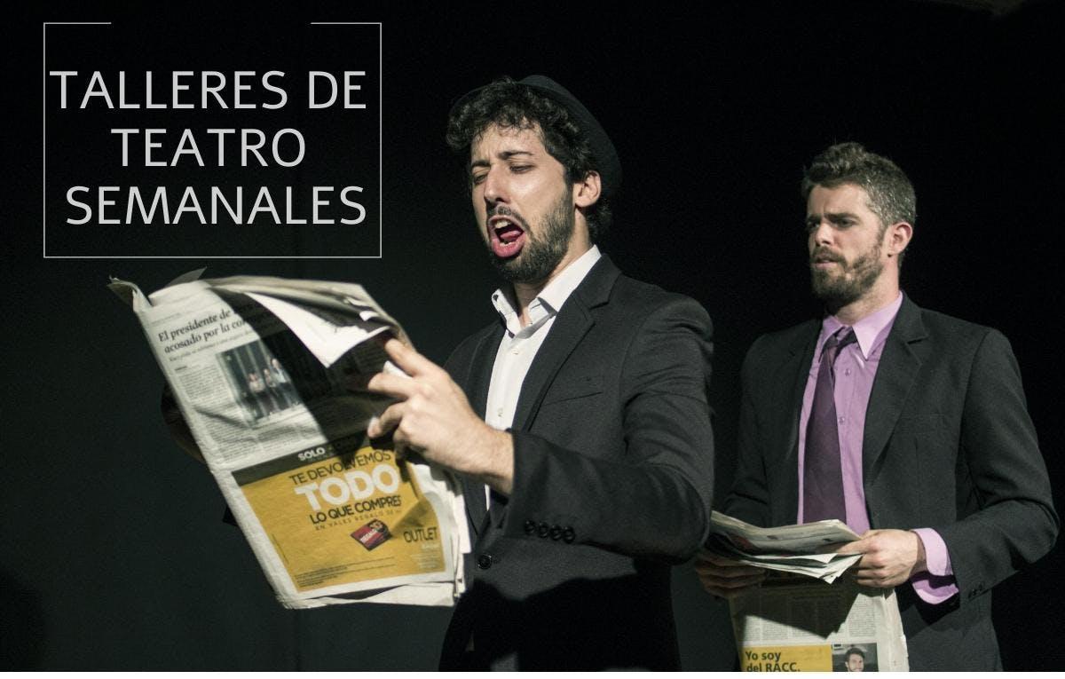 Talleres de Teatro Semanales