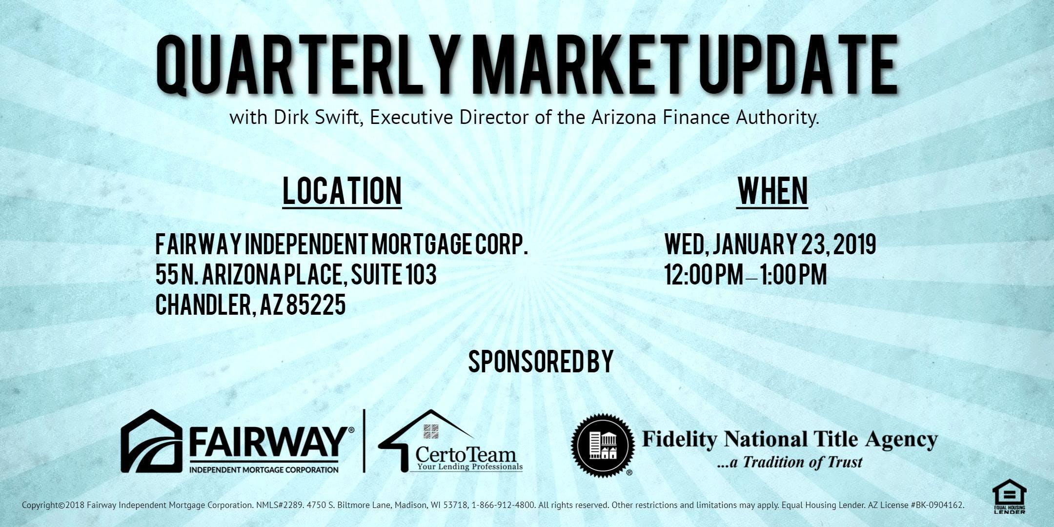 Quarterly Market Updates!