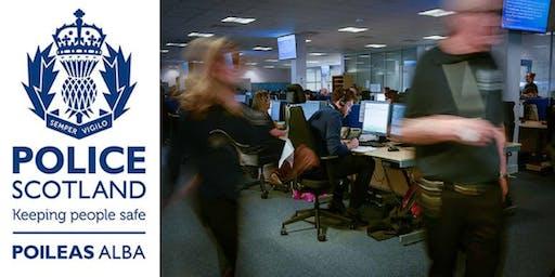 Police Scotland - Service Advisor Recruitment Open Evening