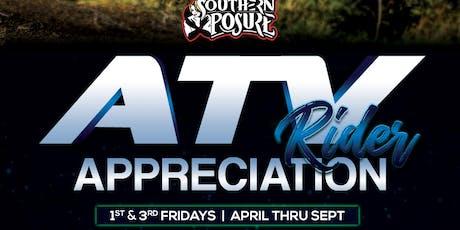 ATV Rider Appreciation tickets