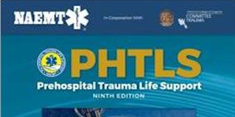 NAEMT 9TH EDITION Pre Hospital Trauma Life Support (PHTLS) in BATH South West UK tickets