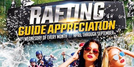 Rafting Guide Appreciation tickets