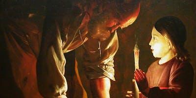 Kruip in de huid van Rembrandt van Rijn