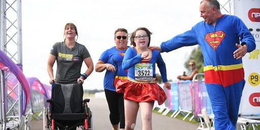 Superhero Triathlon for KIDS Charity