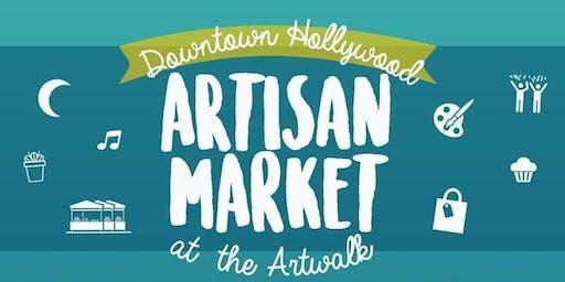 Downtown Artisan Market at Hollywood Artwalk