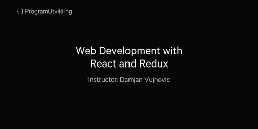 Web Development with React and Redux - 26-28 August 2019