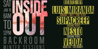 Inside Out Winter Sessions w/ Luis Miranda, Supacreep, Nesto & Vëdda