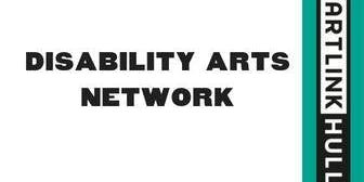 Disability Arts Network Meeting: Tue 5 Nov