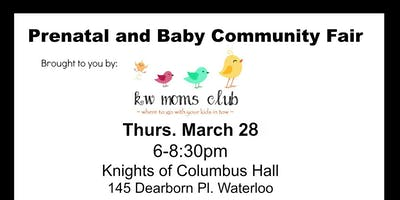 Prenatal and Baby Community Fair by KW Moms Club