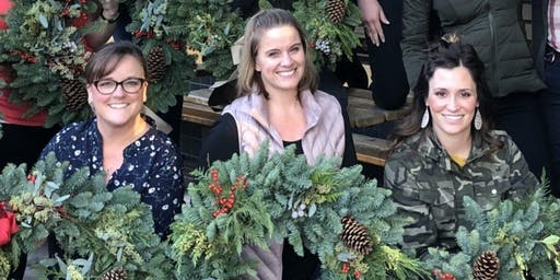 Winter Wreaths at Tualatin Estate VIneyard