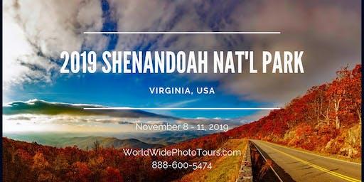 Shenandoah National Park, VA, USA Photo Adventure and Workshop