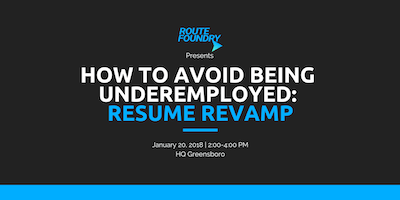 How to Avoid Being Underemployed: Resume Revamp