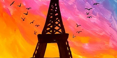 Want to Paint PARIS WITH LOVE in Surrey