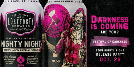 Festival of Darkness 2019: Nighty Night Release Party  tickets