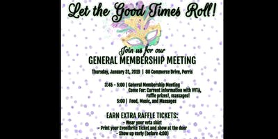 VVTA General Membership Meeting January 2019
