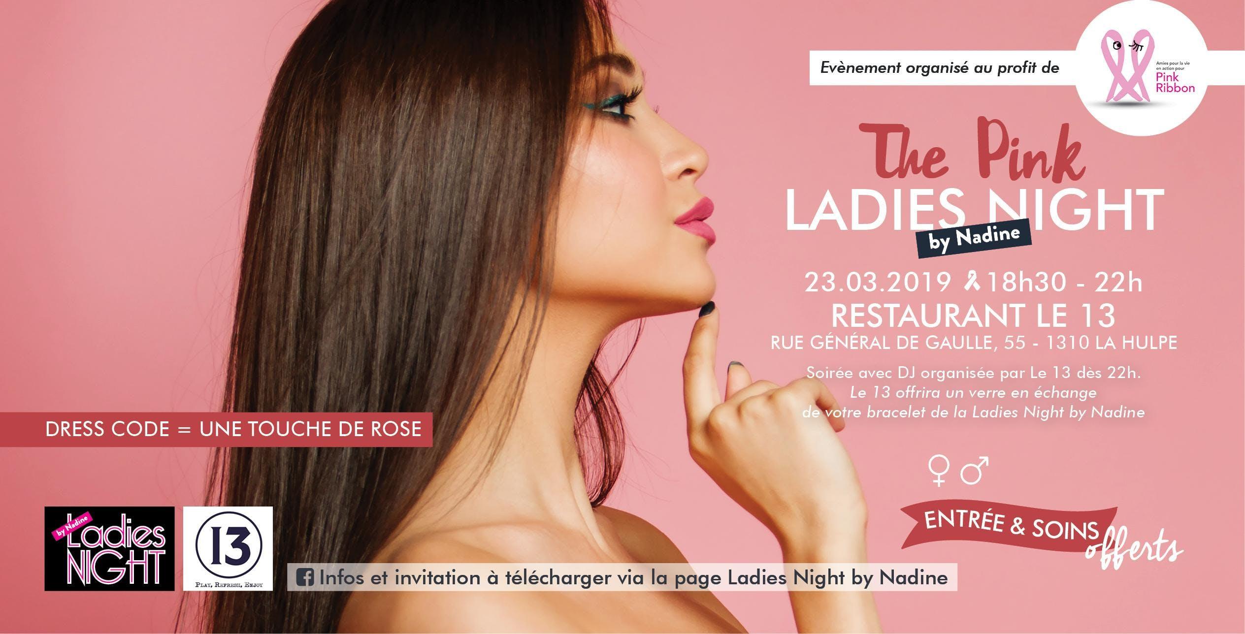 Invitation - The Pink Ladies Night by Nadine