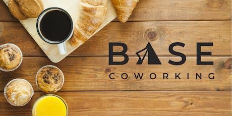 Base Coworking Member's Networking Breakfast tickets