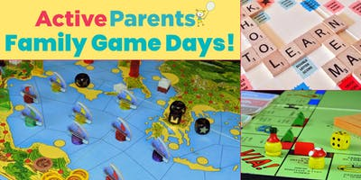 Active Parents Family Game Day - Jan 27/19