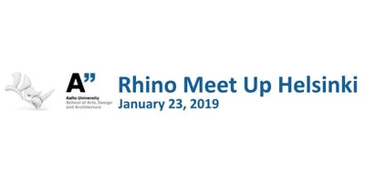 Rhino User Meeting Helsinki 2019 - Alternative session