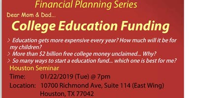 Financial Planning Series-College Education Funding