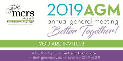 MCRS 2019 AGM: Better Together