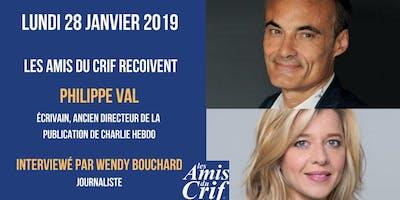 Conférence-débat avec Philippe Val