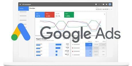 Curso Preparatorio para la Certificación Profesional Google Ads | 2019 tickets