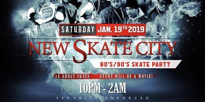 New Skate City || 18+ Skate Party