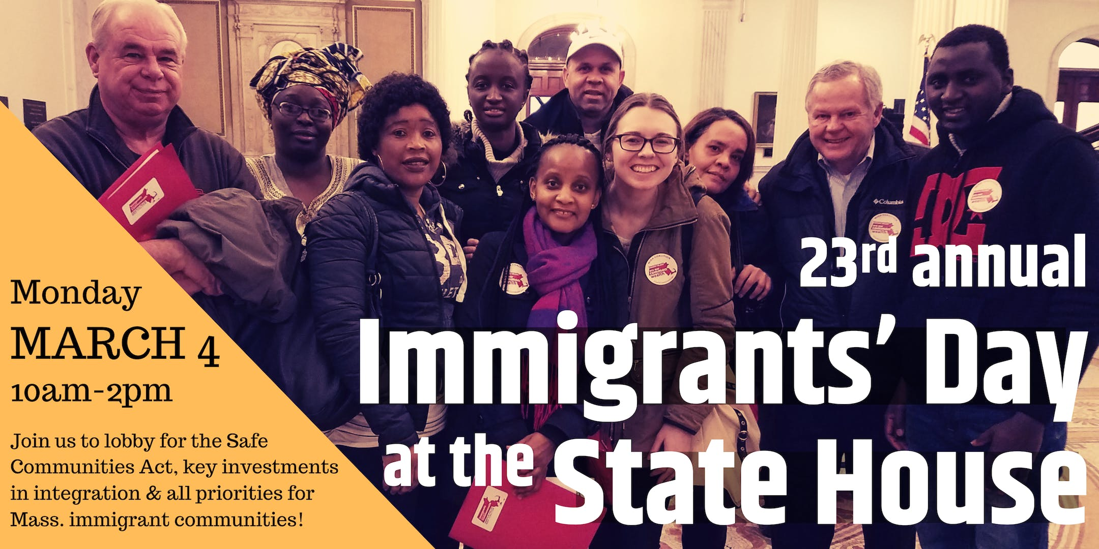 Immigrants' Day at the State House 2019