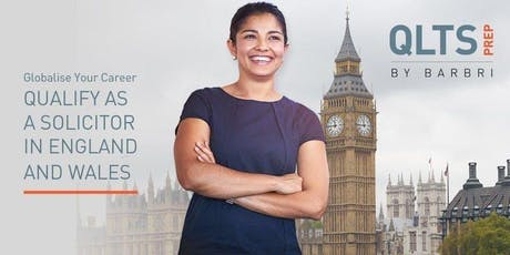 Qualify in England & Wales as a Solicitor Tickets, Wed 25 Sep 2019