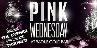 Pink Wednesday Artist Showcase (The Pink Tour) at Radius Gold Bar Dallas 1-23-19