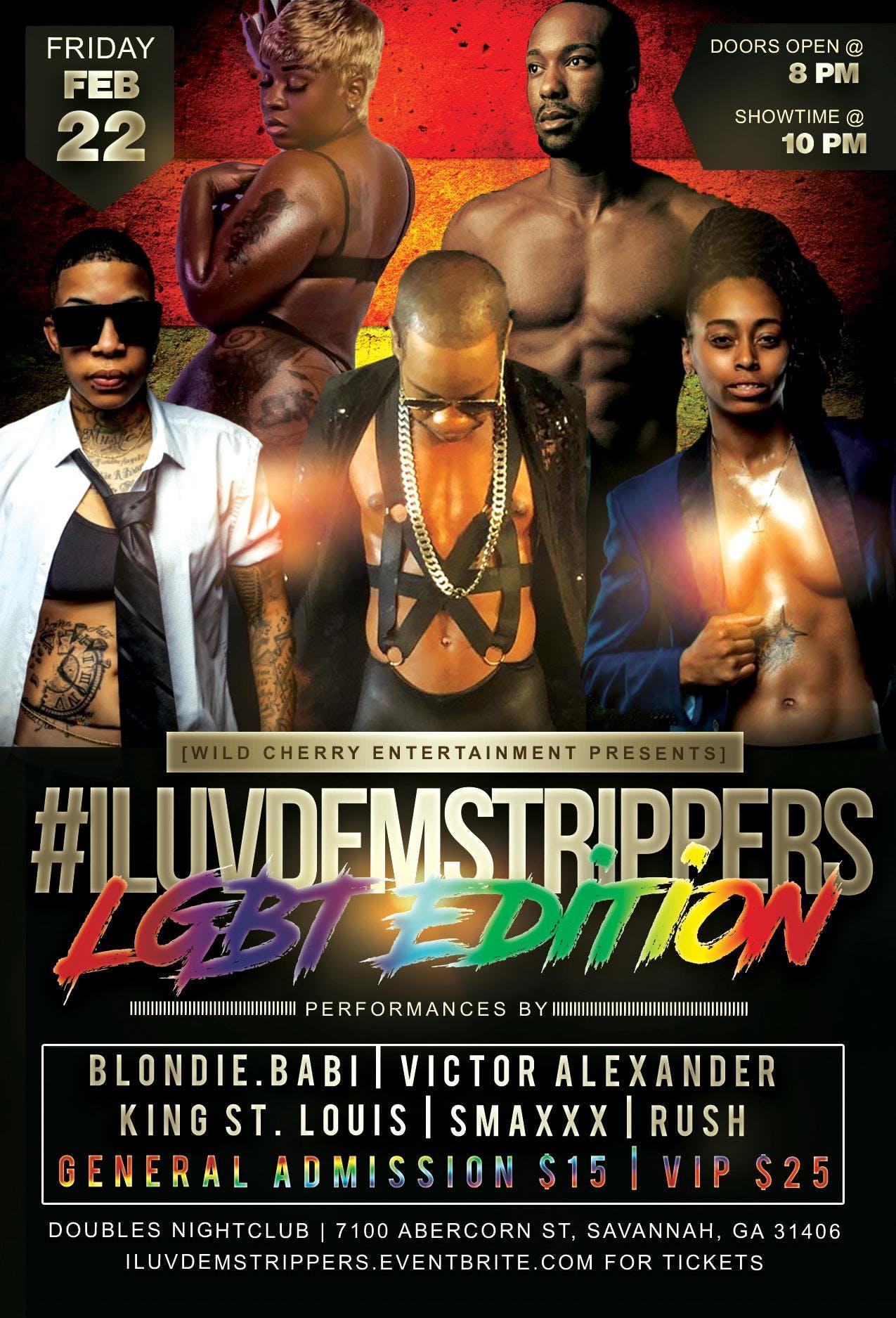 I Luv Dem Strippers LGBT Edition