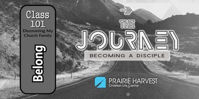 Discipleship Journey Class 101- Discovering My Church Family