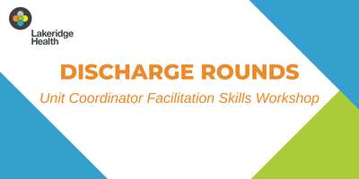 Unit Coordinator Facilitation Skills Workshop
