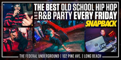 Snapback LBC Old School Party ft SOSOJEFF, Icy Ice, Remark & Orion
