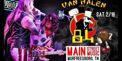 84  {a tribute to Van Halen}