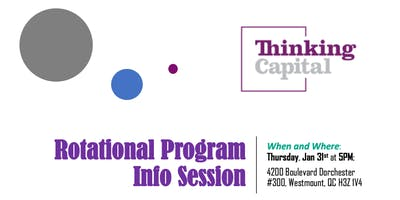 Rotational Program - Info Session at Thinking Capital