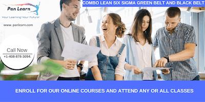 Combo Lean Six Sigma Green Belt and Black Belt Certification Training In Oxnard, CA