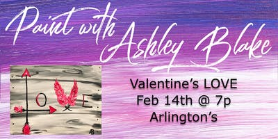 Valentine's Paint with Ashley Blake