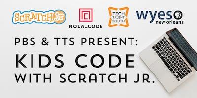 PBS & TTS Present: Kids Code With ScratchJr