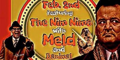 Groundhog Day Celebration with NimNims, MELD, and Danimal