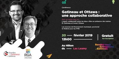 Conférence RGA et CCG « Gatineau et Ottawa : une approche collaborative »