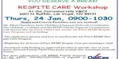 EFMP Respite Care Workshop