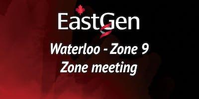 EastGen Waterloo Zone Meeting