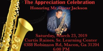 The Appreciation Celebration Honoring Mr. Oscar Jackson